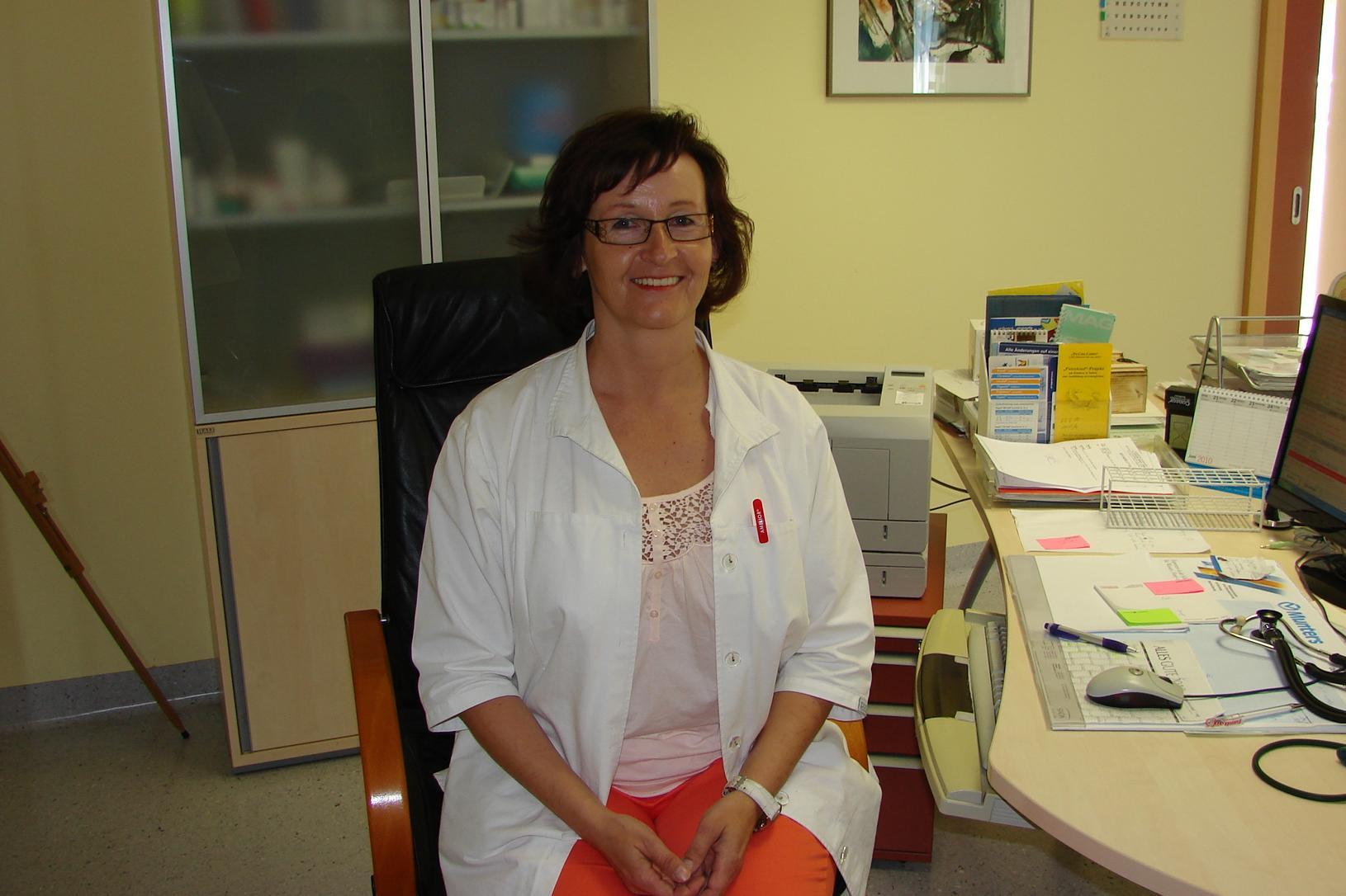 Dr. Ulrike Weiß, Gemeindeärztin, Rechnitz