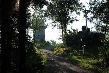 Aussichtsturm und Gipfelkreuz, Geschriebenstein