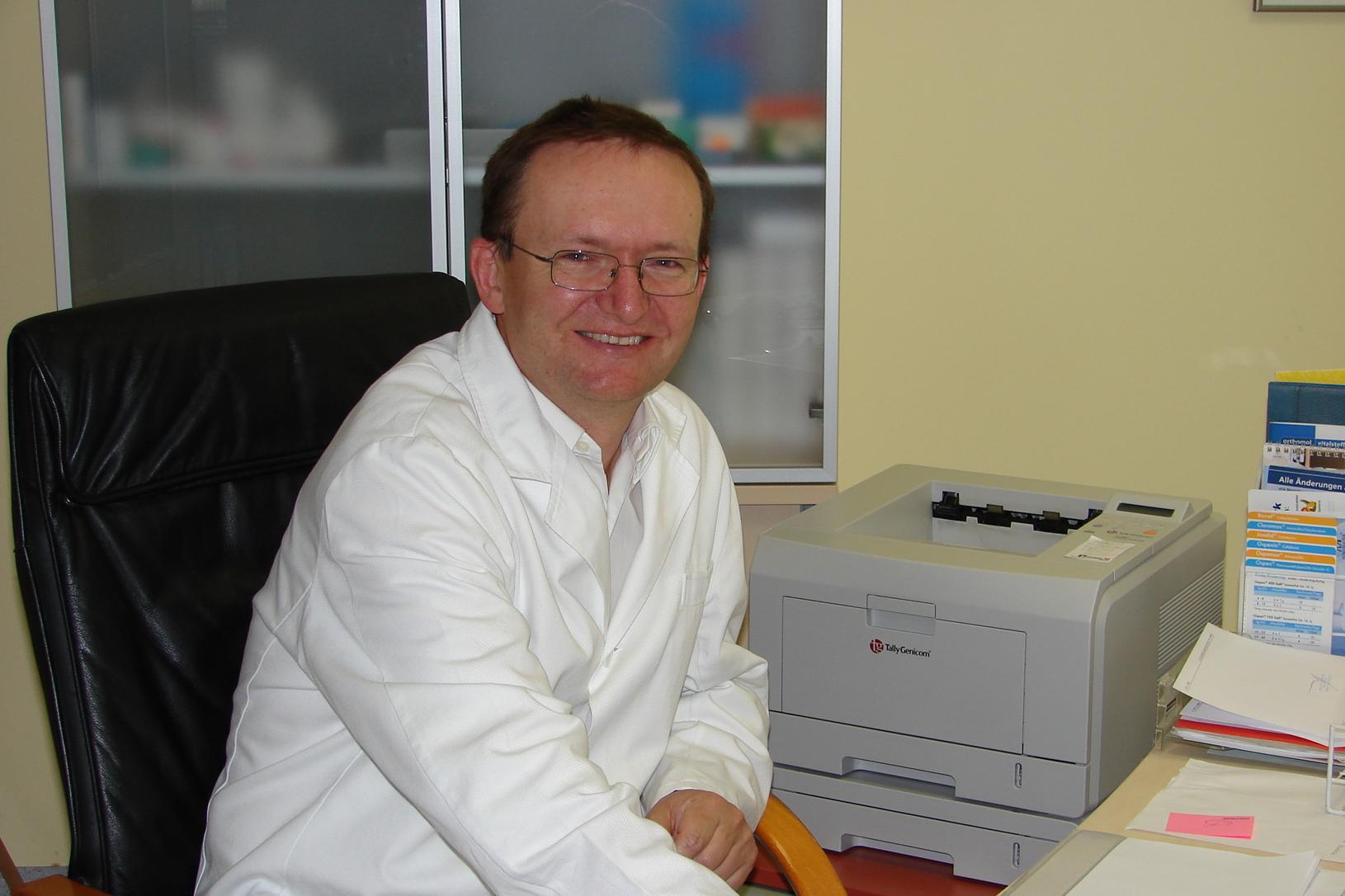 Dr. Arthur Lindau, Praktischer Arzt, Rechnitz