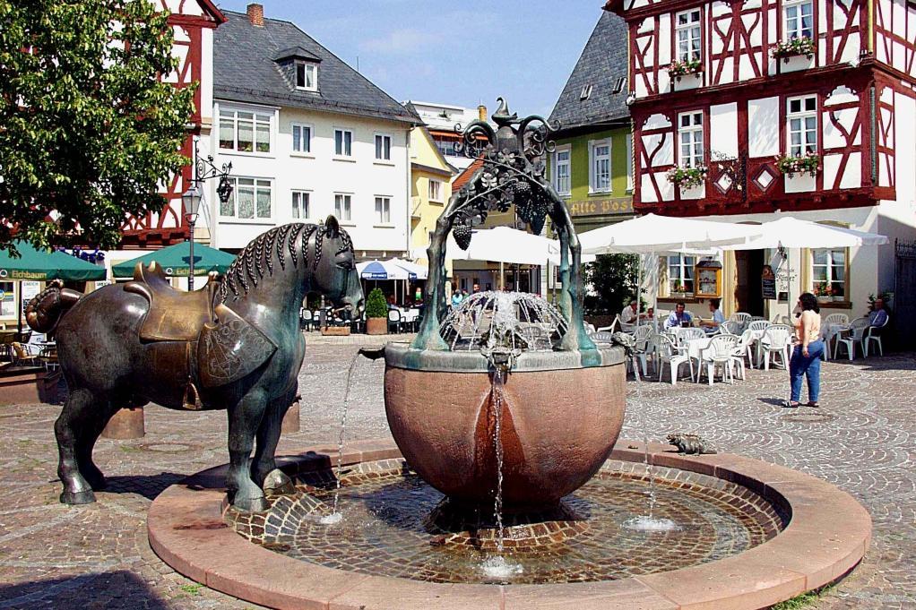 Rossmarkt, Alzey, Deutschland