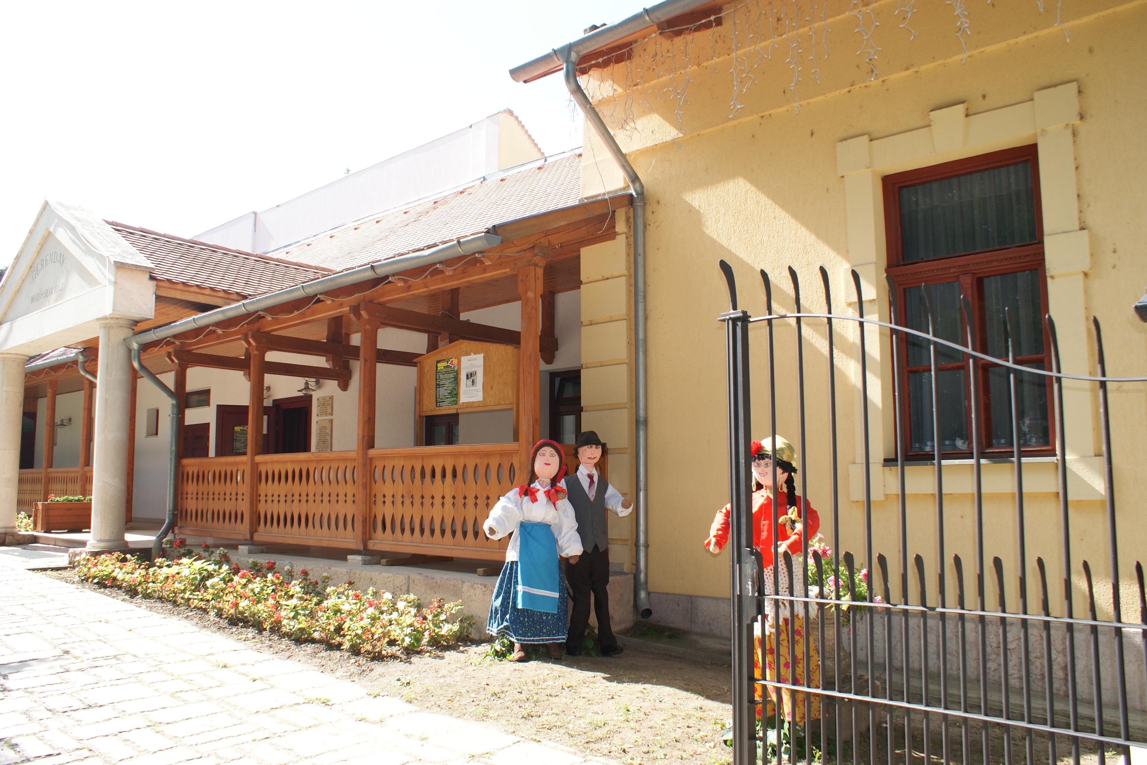 Gerenday Haus, Lábatlan, Partnergemeinde in Ungarn