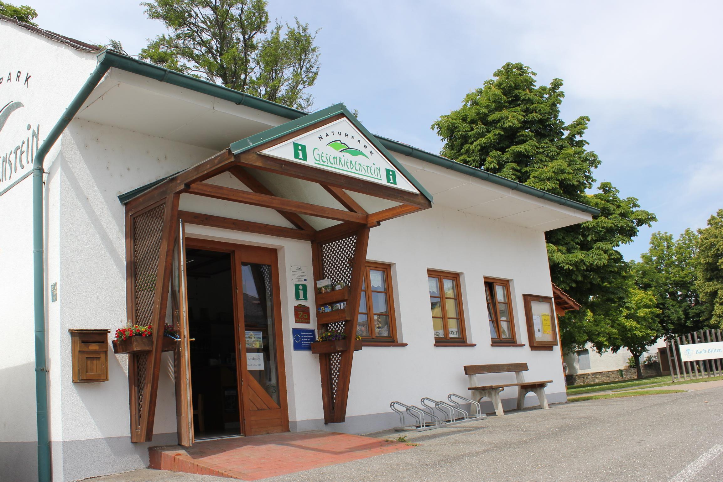 Informationsbüro und Dorfladen Geschriebenstein, Rechnitz, Südburgenland