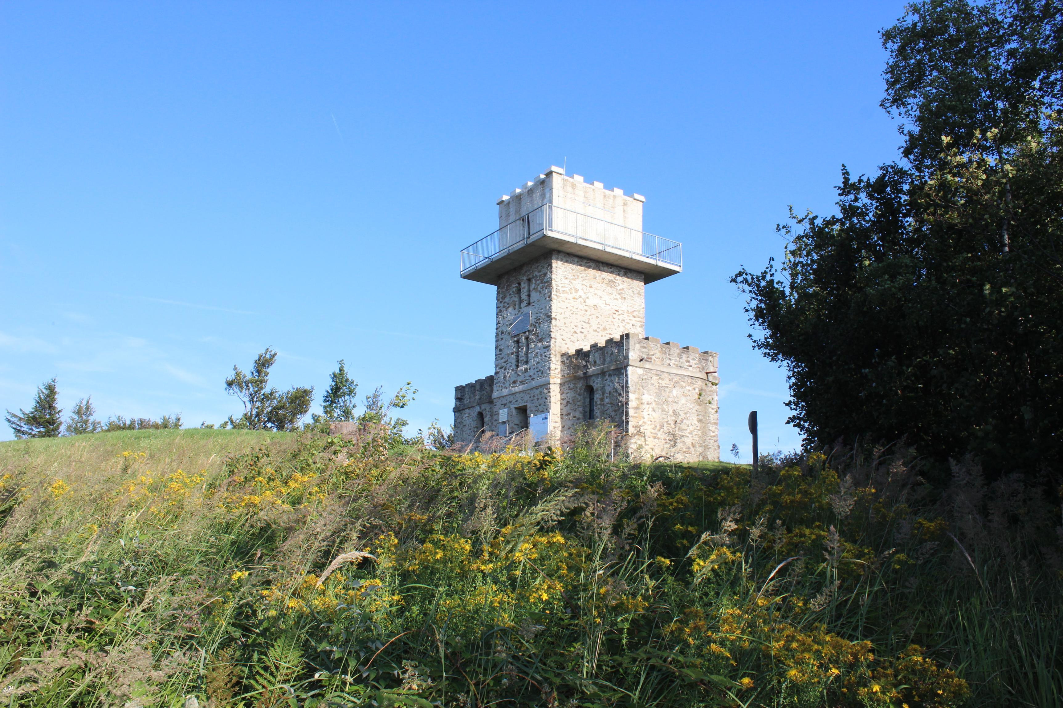 Aussichtswarte am Geschriebenstein, Südburgenland