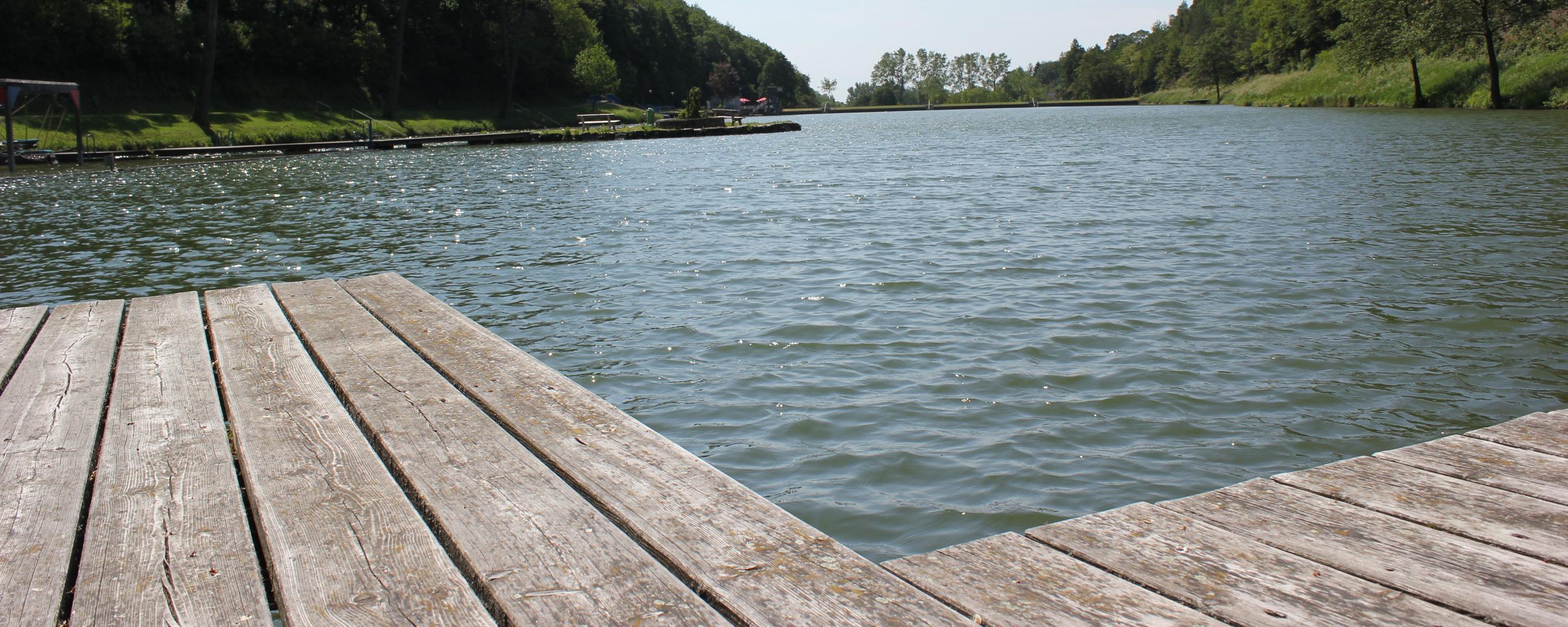 Steganlage direkt am Wasser, Rechnitz, Südburgenland