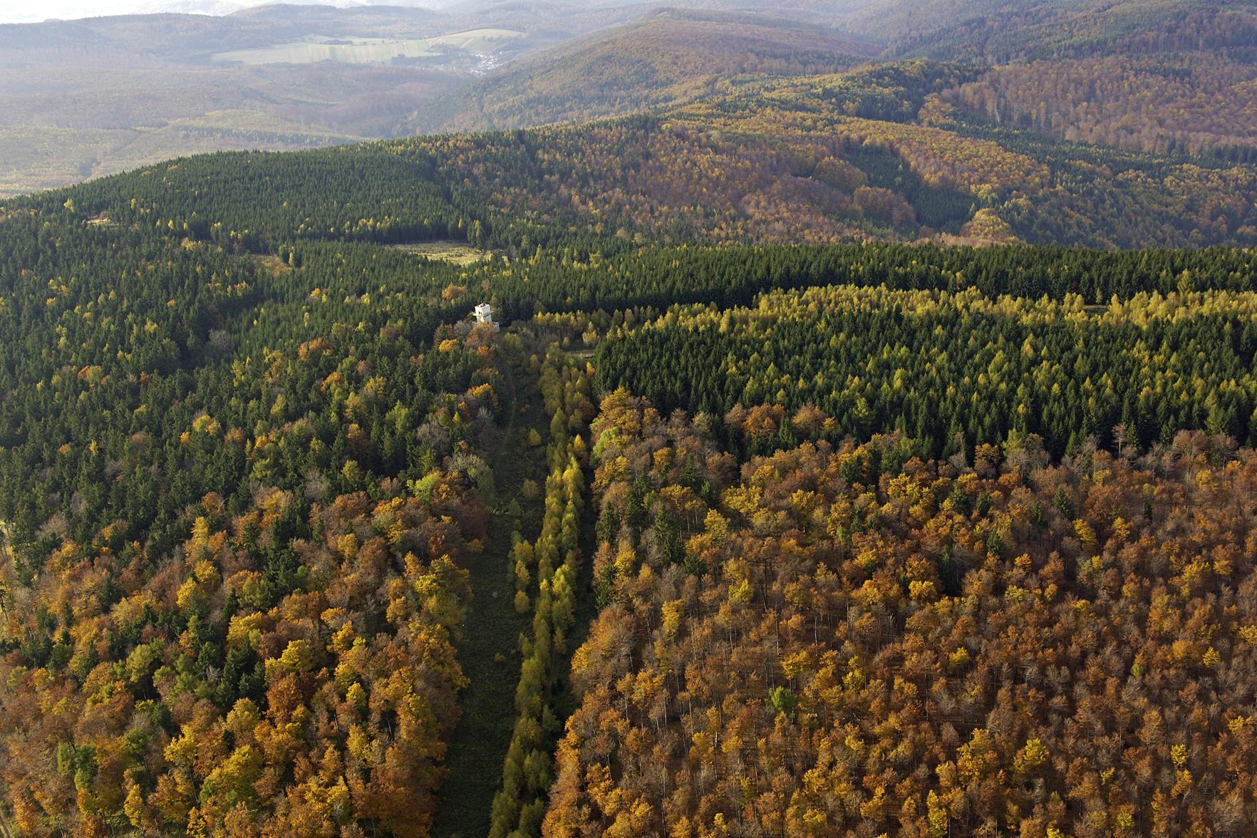 """Landschaftsschutzgebiet """"Bernstein, Lockenhaus, Rechnitz"""", Südburgenland"""