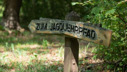 Tafel Jagdlehrpfad