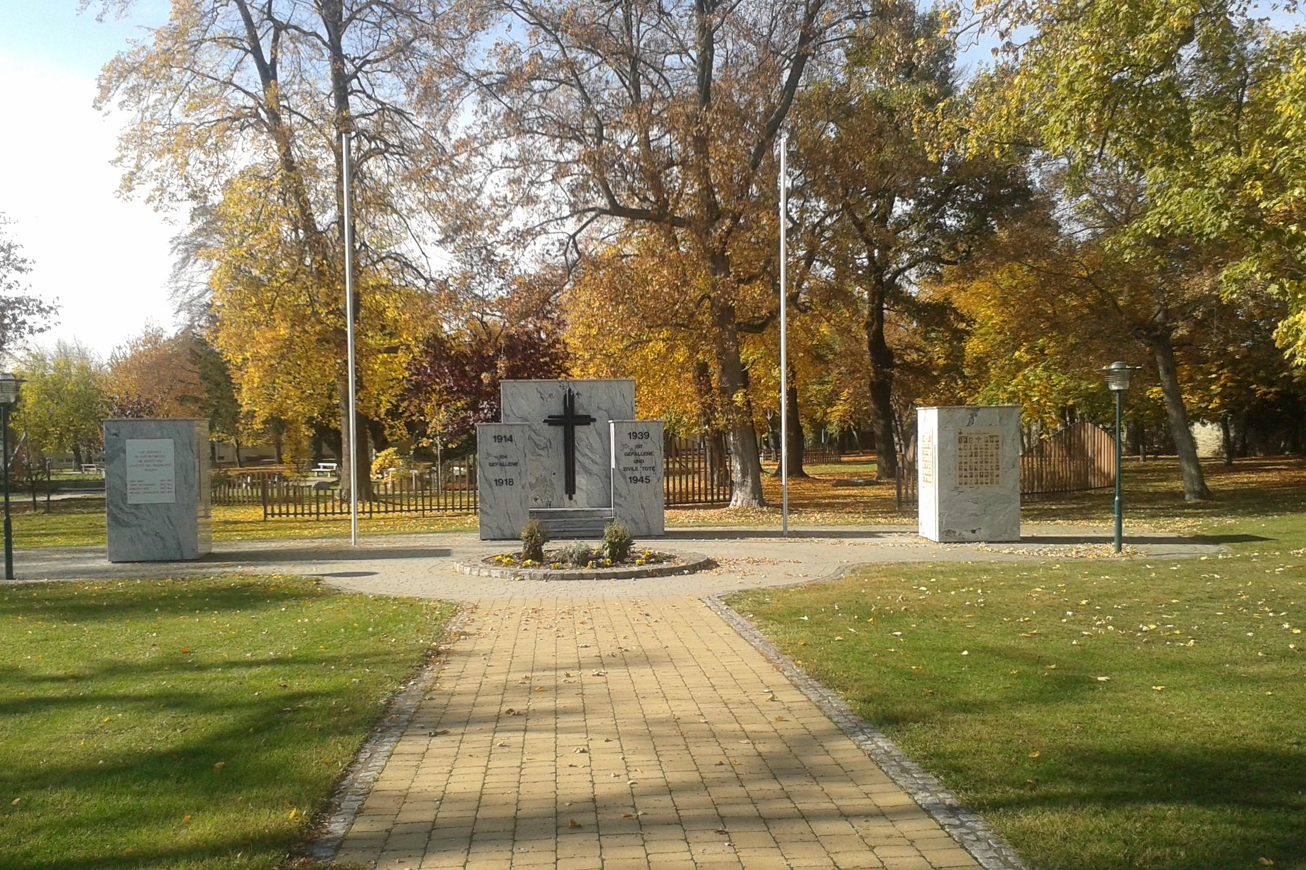 Friedensdenkmal in Rechnitz, Südburgenland
