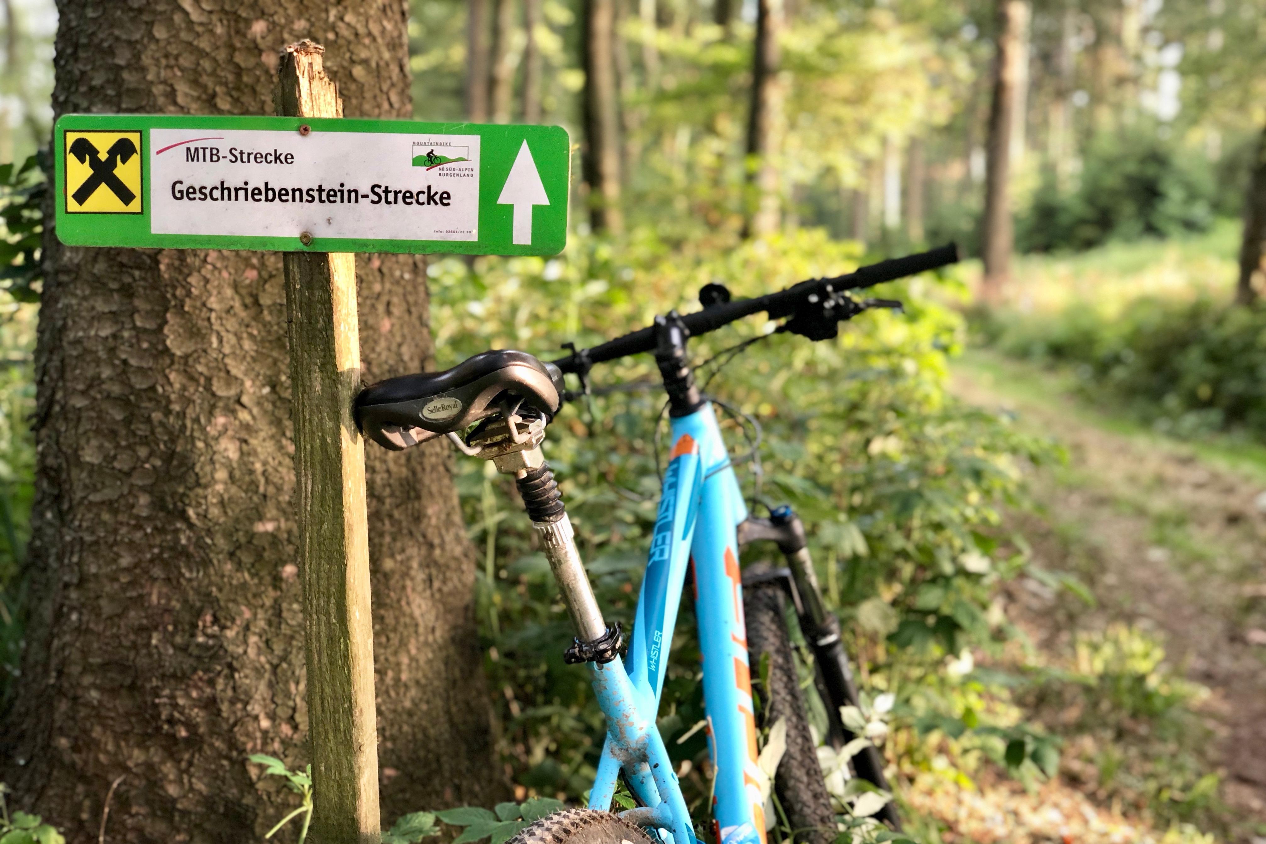 Mountainbike-Tour, Rechnitz, Südburgenland