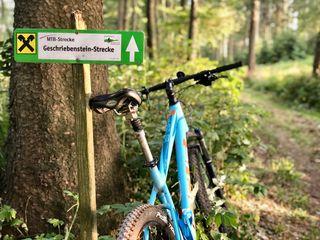 Mountainbike-Strecke Geschriebenstein