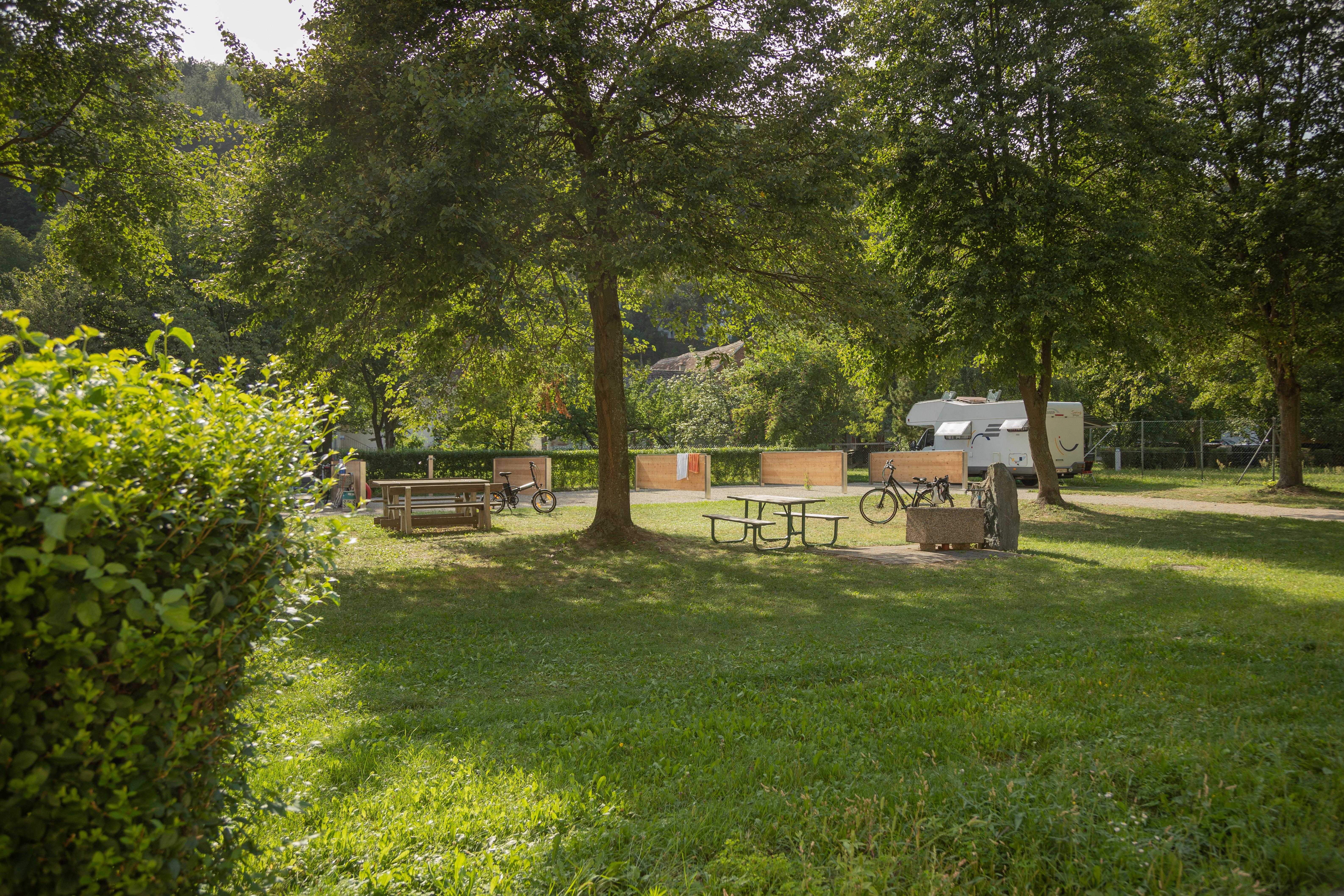 Natur genießen am Campingplatz, Badesee Rechnitz, Südburgenland